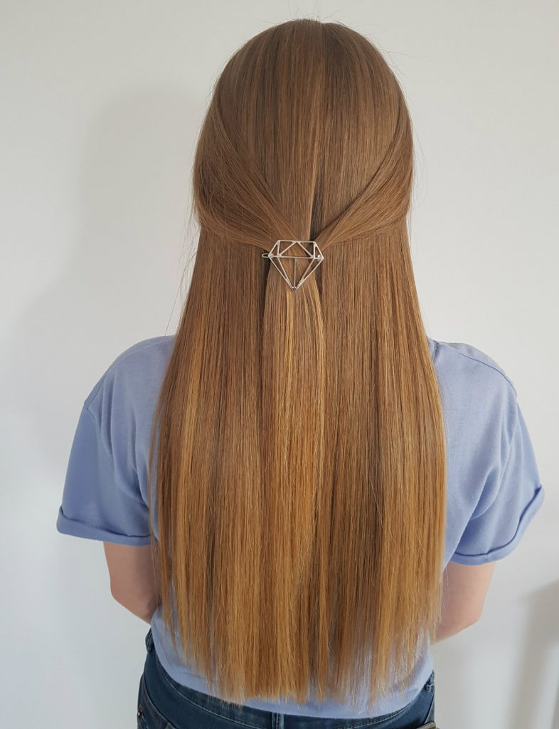 Włosy po zabiegu keratynowego prostowania